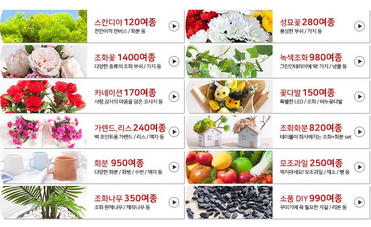 퓨어장미글라스set 19cmR 조화 조화화병 소품 FMFUFT - 플라워트리, 6,750원, 조화, 화분세트